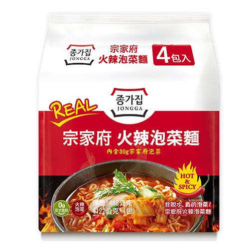 宗家府火辣泡菜麵