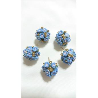 9 ブーケポスト ブルー