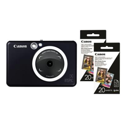 Canon ZV-123A 即影即印相印機 (公司貨) 贈40張相片貼紙