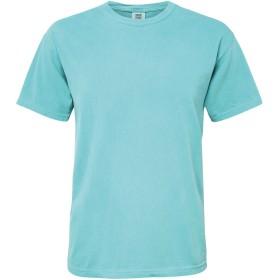 (コンフォート・カラーズ) Comfort Colors メンズ ヘビーウェイト Tシャツ 半袖 トップス 無地 カットソー (S) (シーフォーム)