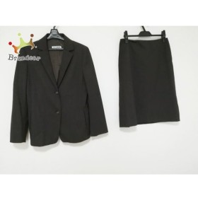 ジルサンダー JILSANDER スカートスーツ サイズ36 S レディース 美品 ダークブラウン   スペシャル特価 20191004