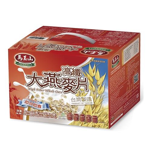 馬玉山高纖大燕麥片2400g