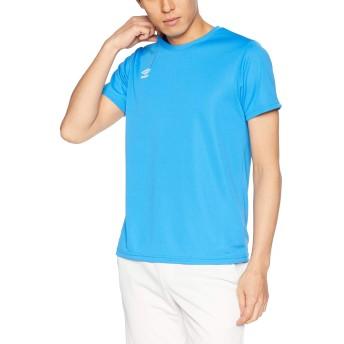 [アンブロ] Tシャツ ワンポイントS/Sシヤツ イビザブルー 日本 M (日本サイズM相当)