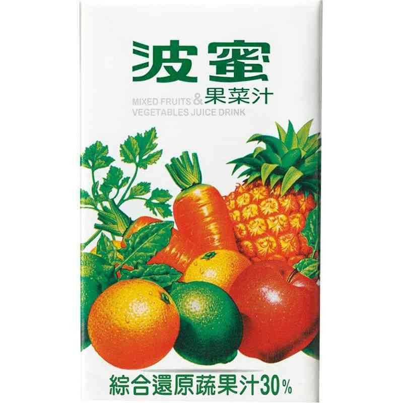 波蜜果菜汁TP250ml