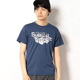 フェニックス(phenix) メンズSSTシャツ/(Way to the Summit S/S)【インディゴ/M】