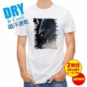 Tシャツ グレのハリ掛かり 釣り 魚 ルアー 送料無料 メンズ ロゴ 文字 春 夏 秋 インナー 大きいサイズ 洗濯