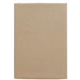 メリーナイト(Merry Night) 日本製 綿100% ベッドシーツ 「フロム」 Sサイズ 100×205×28cm ライトブラ