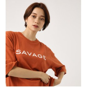 【AZUL by moussy:トップス】SAVAGE ルーズTEE