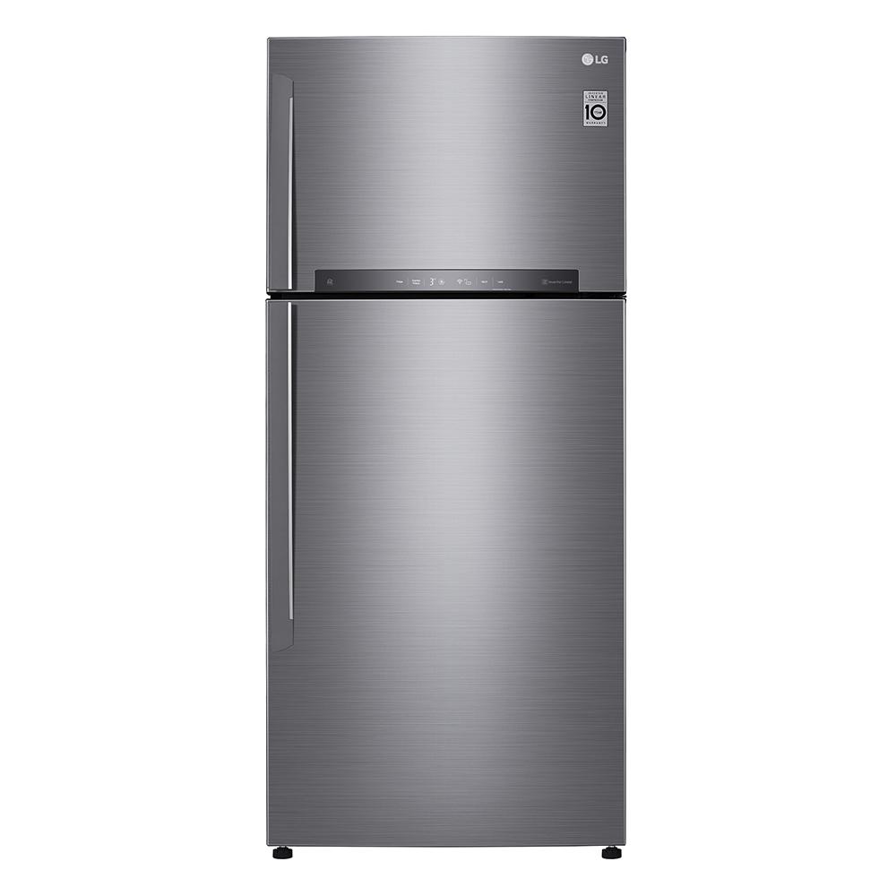 一級節能 LG GN-HL567SV變頻雙門冰箱525L