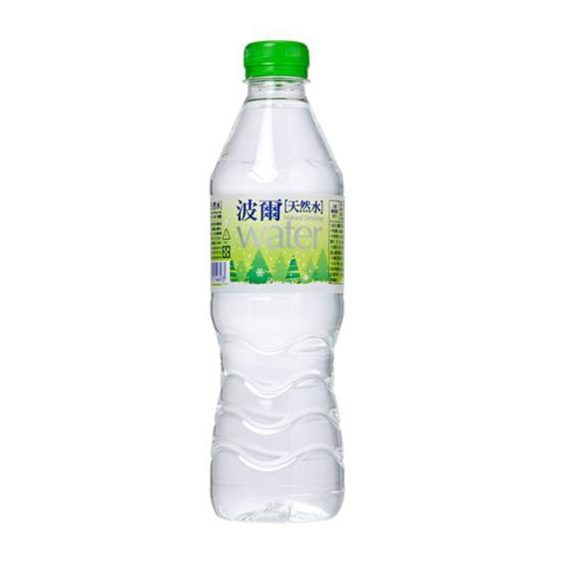 波爾天然水600ml