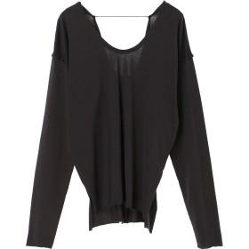 Loro Dubble Uneck T ウォッシャブル Tシャツ・カットソー,インクブラック