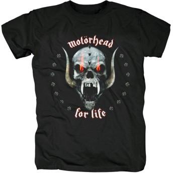 SMURAB Lemmy Kilmister Motörhead Motorhead Heavy Metal ロックTシャ メンズ/レディース Tシャツ/夏服 スポーツ Tシャツ ブラック/半袖 Tシャ