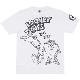 ルーニーテューンズ 半袖 Tシャツ メンズ SPLT-92295B WH L