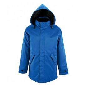 (ソールズ) SOLS ユニセックス Robyn 中綿入り パーカー ジャケット アウター コート (XL) (ロイヤルブルー)
