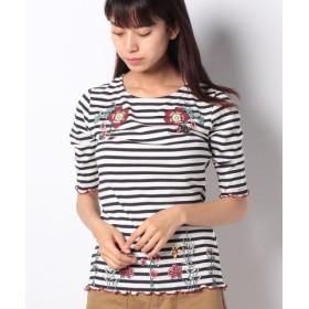 (Desigual/デシグアル)Tシャツ 半袖/レディース ブルー系