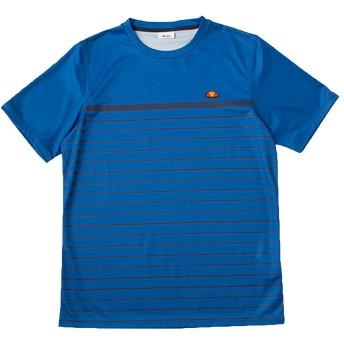 (エレッセ)ellesse テニスウェア 半袖ゲームシャツ EM07103 [メンズ] EM07103 HB ヘリテージブルー L