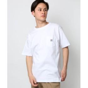 (LAZAR/ラザル)VISION STREET WEAR/ヴィジョンストリートウエア USAコットンポケットTシャツ/メンズ ホワイト