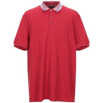 《期間限定セール開催中!》MISSONI メンズ ポロシャツ レッド 3XL コットン 100%