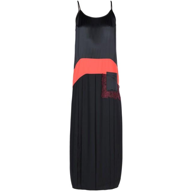 《期間限定セール開催中!》TORY BURCH レディース ロングワンピース&ドレス ブラック 0 ポリエステル 100% / シルク