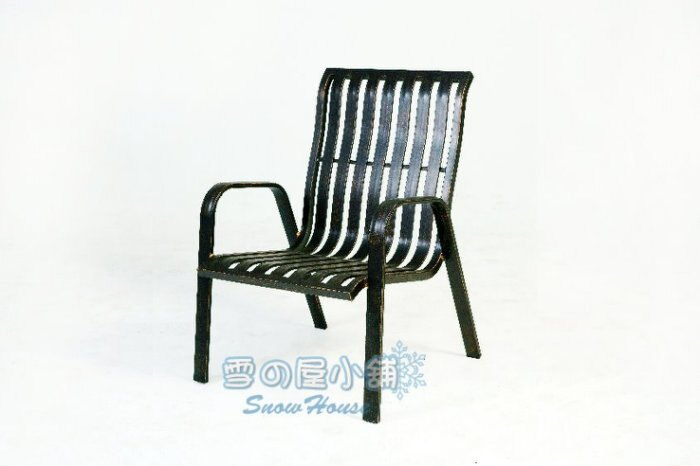 ╭☆雪之屋小舖☆╯巴洛克鋁合金椅/戶外休閒椅/涼椅/戶外椅/休閒椅 A14Q23/A18A06