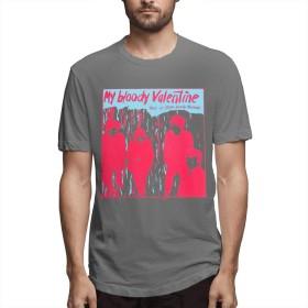 BelleE Tシャツメンズ My Bloody Valentine 半袖 無地 おもしろtシャツ 個性的 ファッション ジョギング トレーニング カジュアル 吸汗 人気 夏