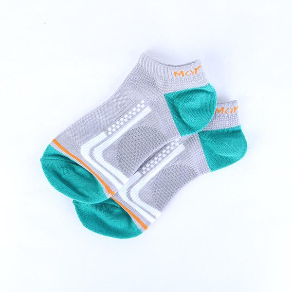 瑪榭腳踝加強直條紋輕護足弓襪