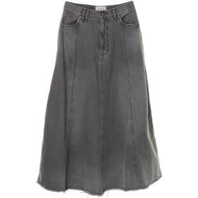 Moname Moname(モナーム) フレアスカート /41193234 ミモレ丈・ひざ下丈スカート,グレー