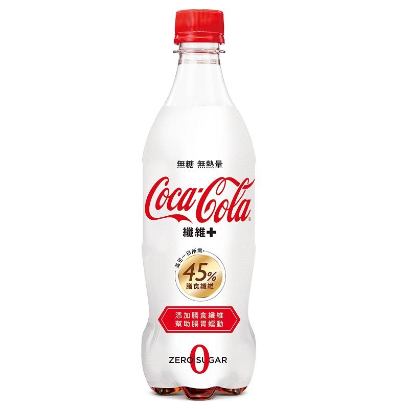 可口可樂纖維+ Pet 600ml