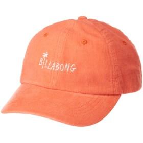 [ビラボン] [レディース] ダッド キャップ (サイズ調整可能)[ AJ013-935 / LOGO CAP ] 帽子 ロゴ おしゃれ ORG_オレンジ US F (FREE サイズ)