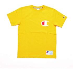 (チャンピオン) Champion BIG CロゴTシャツ [C3-F362] 748 ゴールド S
