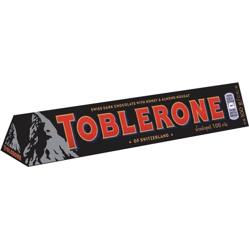 瑞士三角黑巧克力100g