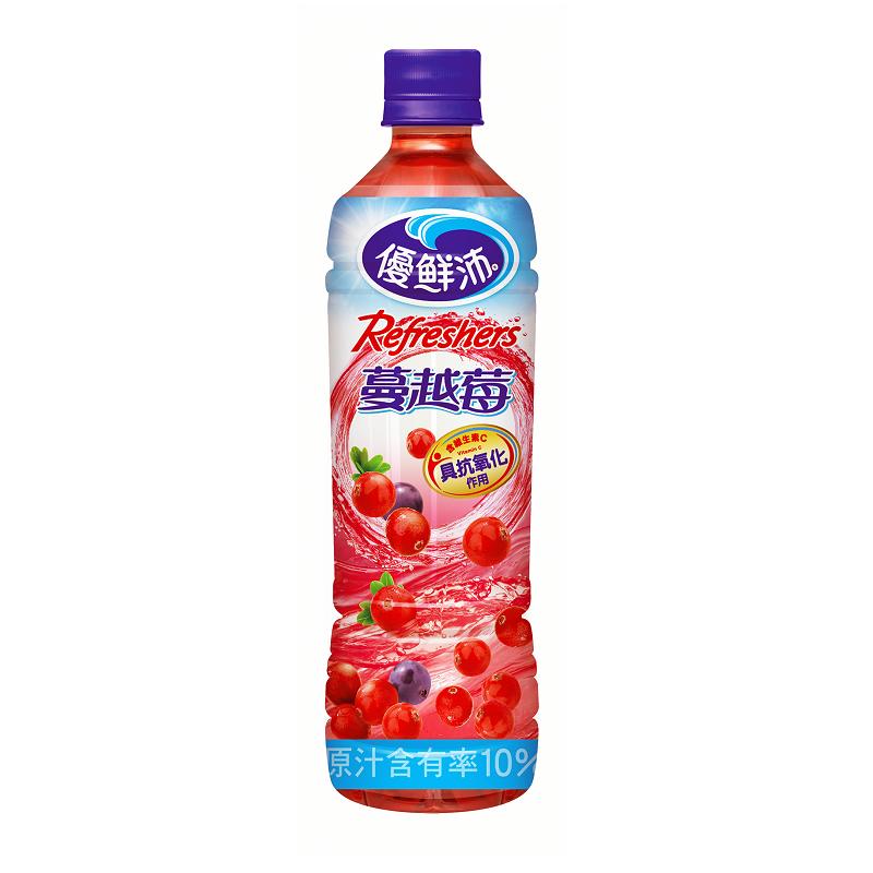優鮮沛蔓越莓綜合果汁Pet500ml