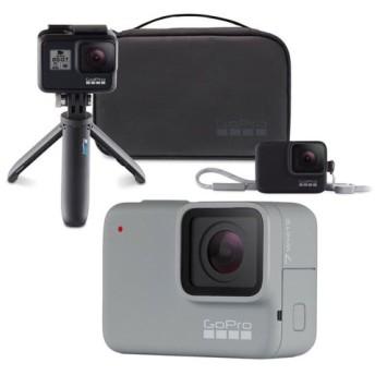 GoPro HERO7 White ウェアラブルカメラ + トラベルキット付き セット