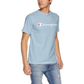 [チャンピオン] スクリプトロゴTシャツ ベーシック C3-H374 メンズ ペールブルー 日本 L (日本サイズL相当)