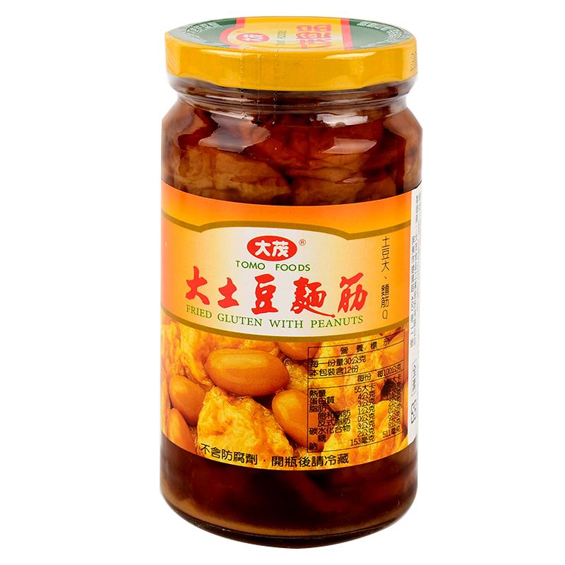 【全素】大茂大土豆麵筋玻璃瓶375g