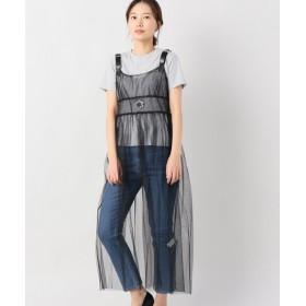 JOINT WORKS tresor hexagram tulle camisole dress ブラック フリー