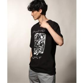 【ジャーナルスタンダード/JOURNAL STANDARD】 PUSHERS ONLY/プッシャーズオンリー INSIDE PRINT Tシャツ2