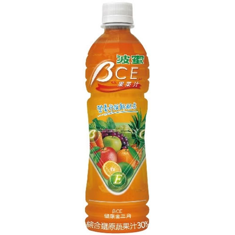【安心價】波蜜BCE果菜汁Pet580ml