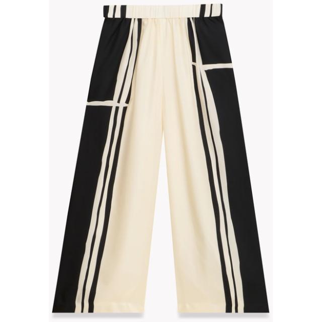 【Theory】Hans Stripe Twill Stripe Culotte