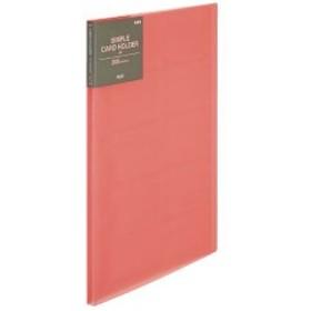 プラス  4977564598860 カードホルダーA4 FL-201NS ピンク