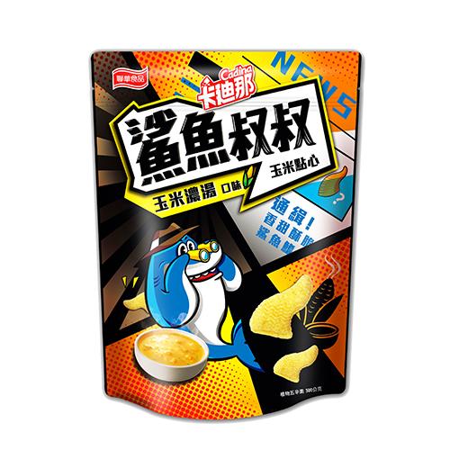 卡迪那鯊魚叔叔玉米濃湯口味300G