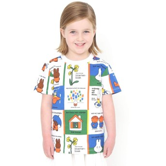 (グラニフ) graniph コラボレーション キッズ Tシャツ カバーコレクト (ミッフィー) (マルチ) キッズ 130 (g116) #おそろいコーデ (g116)
