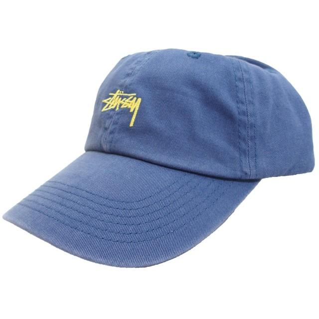 (ステューシー) STUSSY STOCK LOW PROFILE CAP 6パネルキャップ メンズ レディース [131595] (ブルー) [並行輸入品]