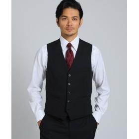 TAKEO KIKUCHI(タケオキクチ) シャドーストライプ ベスト Material using CORDURA