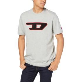(ディーゼル) DIESEL メンズ Tシャツ パッチデザイン 00SY7A0CATJ M グレー 912