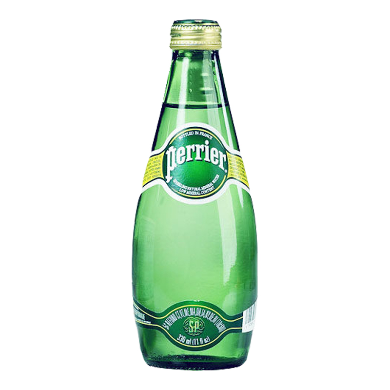 Perrier 汽泡礦泉水330ml*4入/組