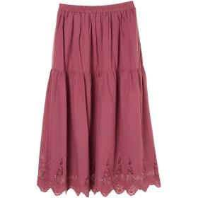 【6,000円(税込)以上のお買物で全国送料無料。】エンブロイダリーレーススカート