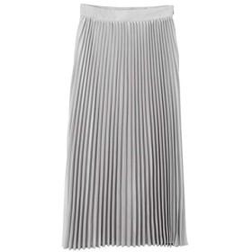 (ティティベイト) titivate アコーディオン プリーツ スカート ATXN0245 S ライトグレー