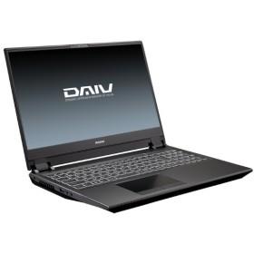 DAIV 15.6型ノートPC [ Win 10 Home / i7-9750H / メモリ32GB / SSD M.2 1TB / GeForce RTX 2060 /4K ] BC-DAIVN15R264K-192