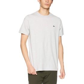 [ラコステ] ベーシック クルーネック Tシャツ (半袖) メンズ TH622EM グレー EU 002 (日本サイズS相当)